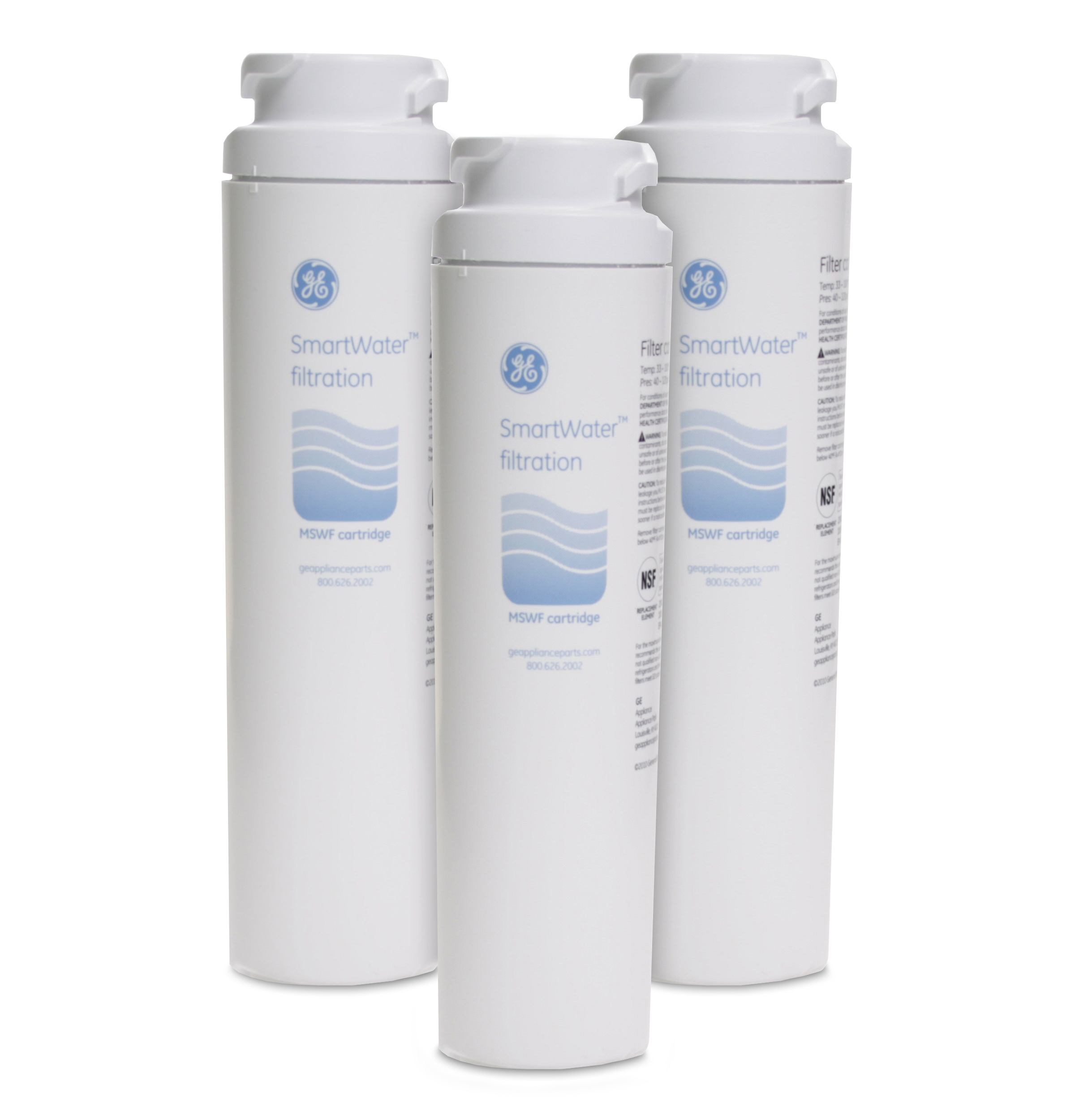 Ge Refrigerator Filter Replacement Cartridge Mswf3pk Gear Mswf3pk Refrigerator Water Filter 3 Pack Ge Parts