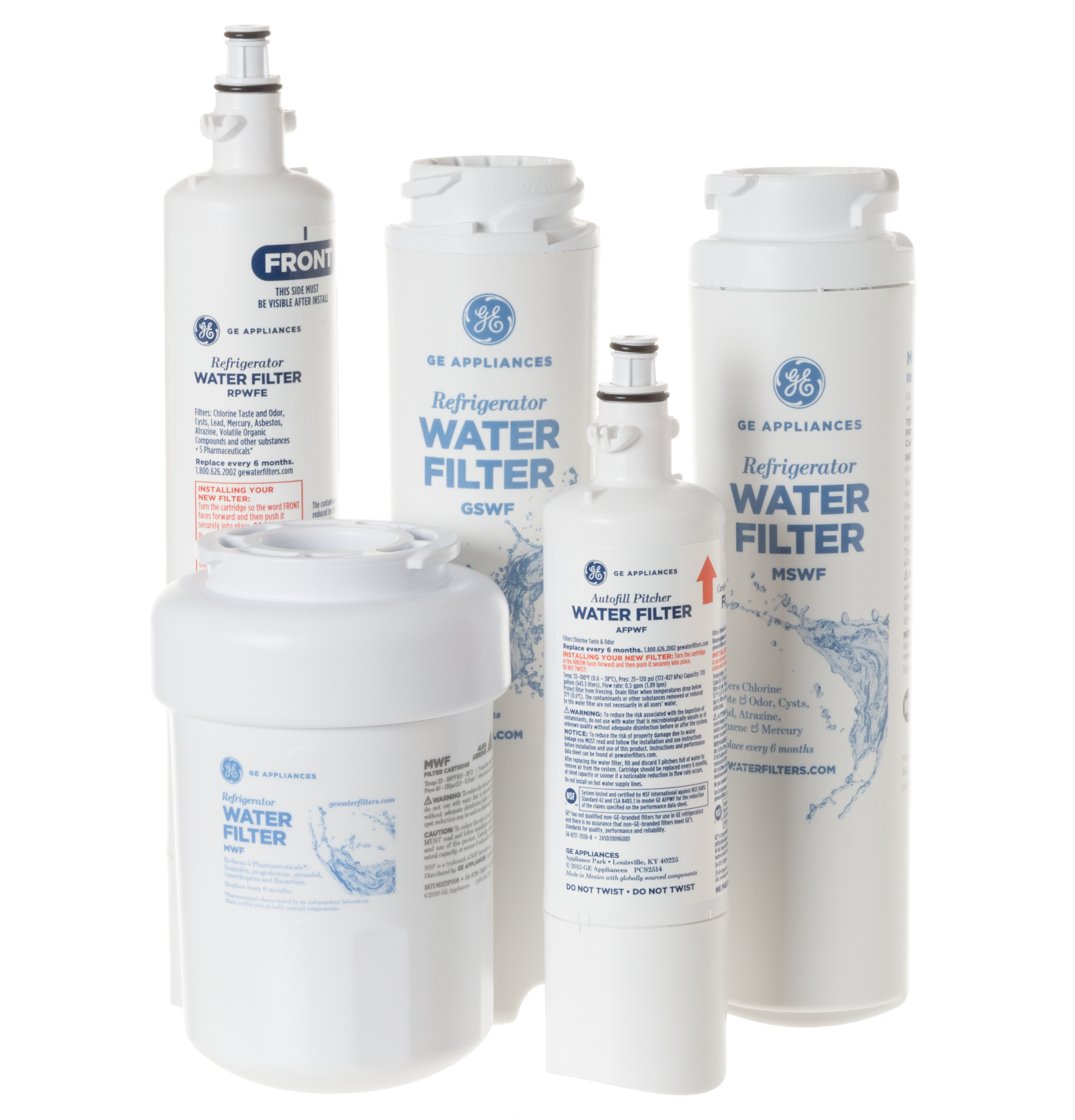 How To Replace Ge Water Filter Mwfp Gear Mwf Refrigerator Water Filter Ge Parts