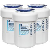 GE® MWF REFRIGERATOR WATER FILTER 3-PACK — Model #: MWFP3PK