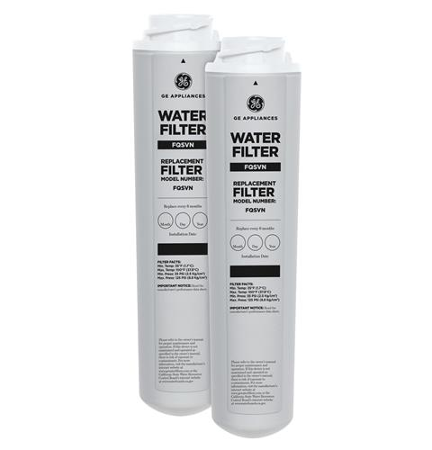GE® Dual Stage Drinking Water Replacement Filter - FQSVF REPLACEMENT — Model #: FQSVN