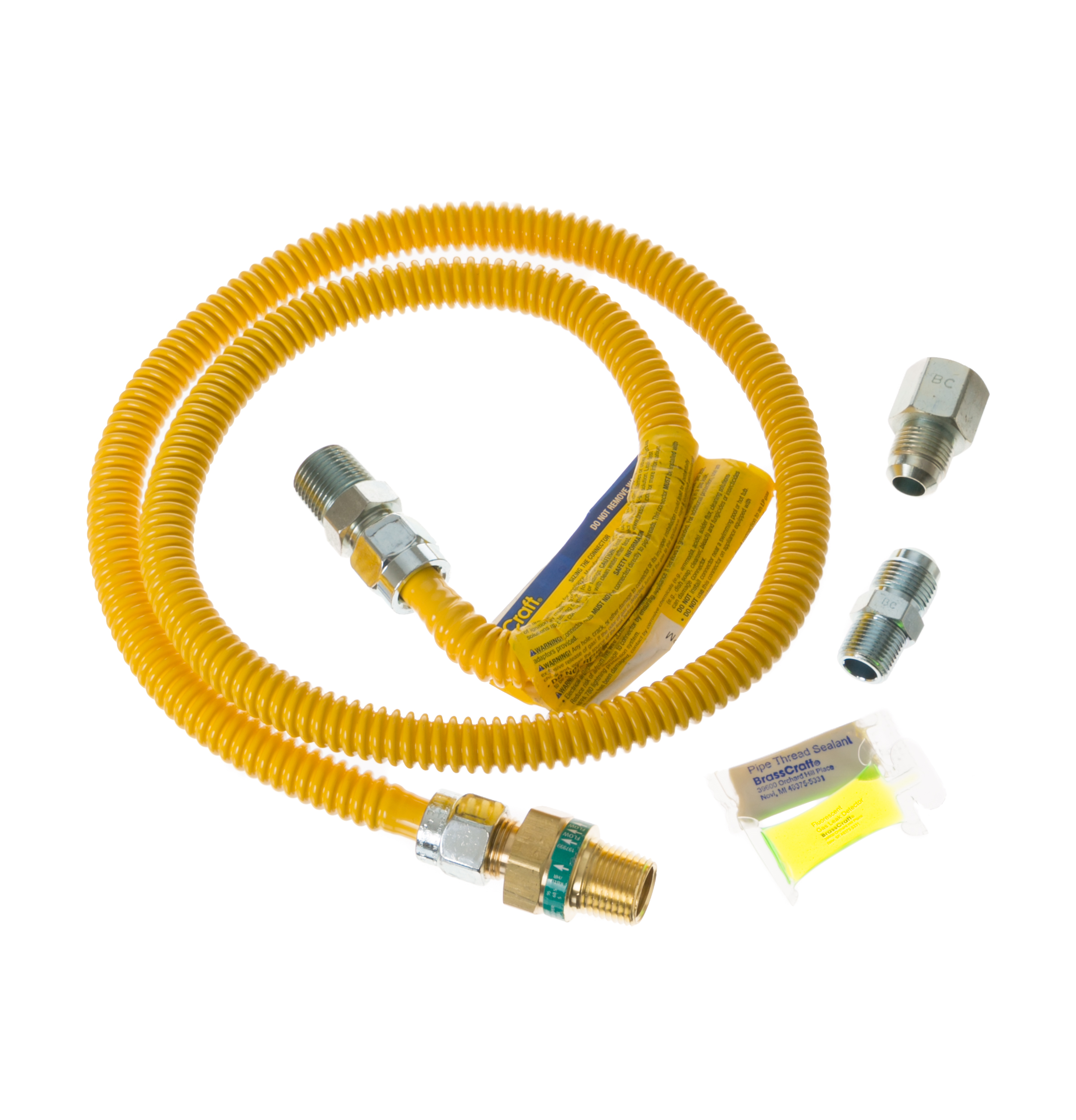 Pm15x114 4 Universal Gas Dryer Installation Kit With Auto Shutoff Wire Connection Diagram Product Image