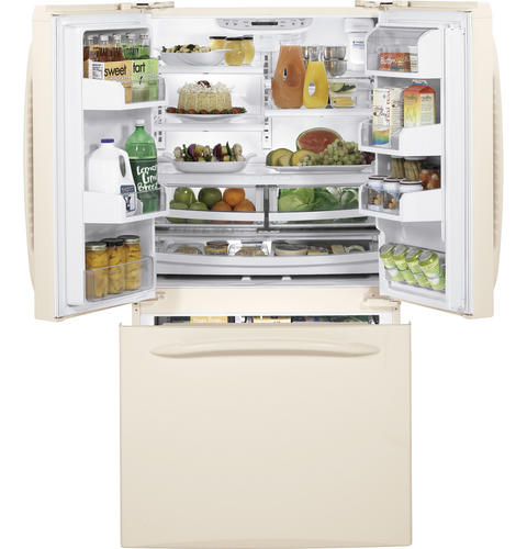 GE Profile™ ENERGY STAR® 25.1 Cu. Ft. French-Door Refrigerator with Icemaker
