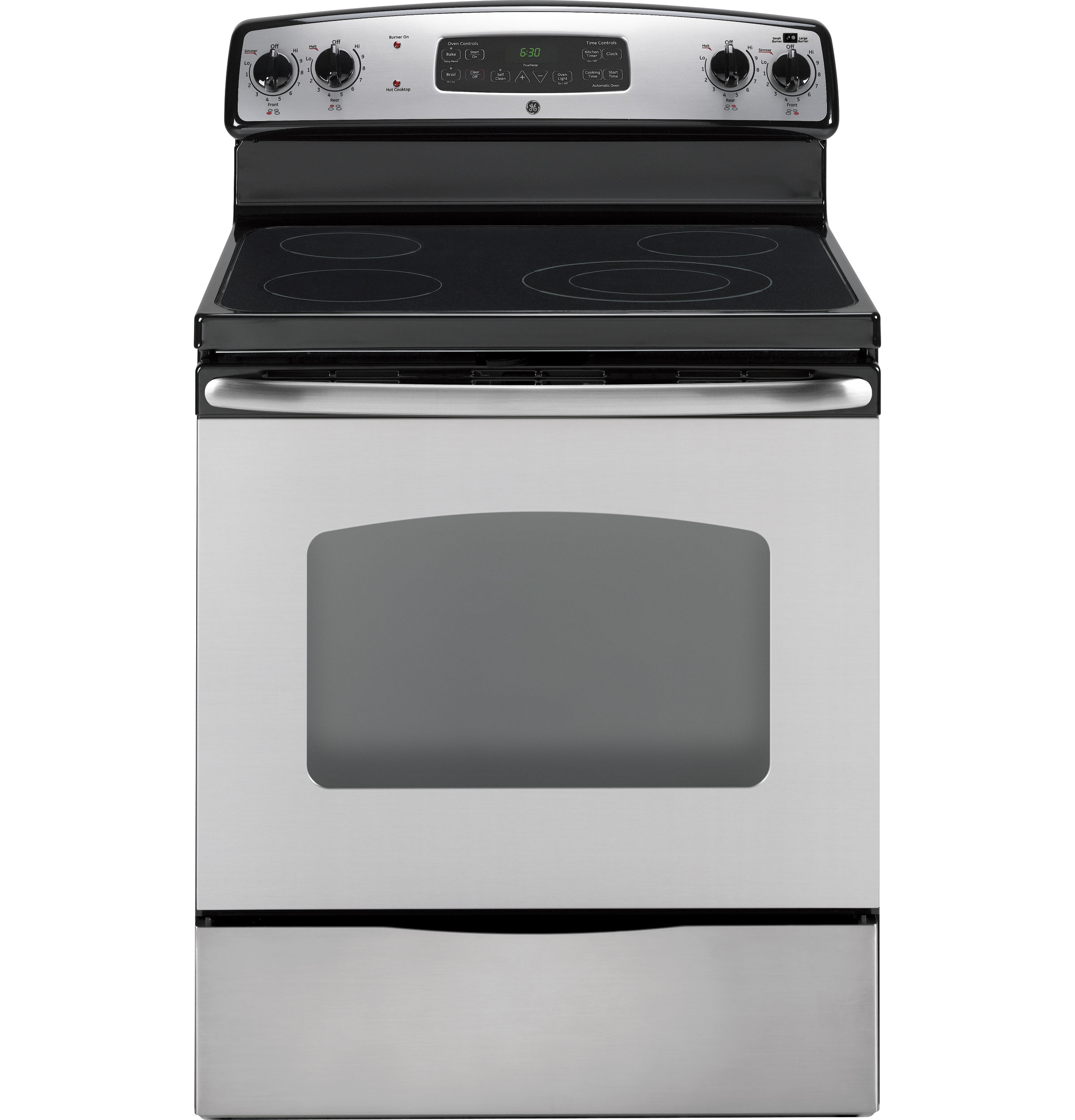 ge® 30 standing electric range jbp66smss ge appliances product image