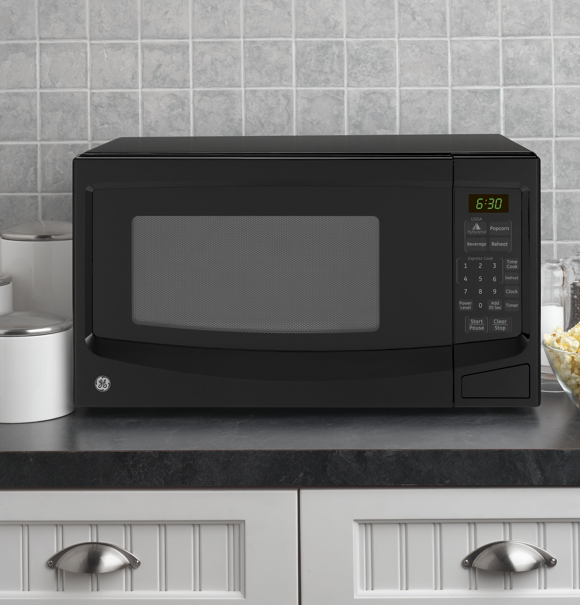 GE? Countertop Microwave Oven JES1145DPBB GE Appliances