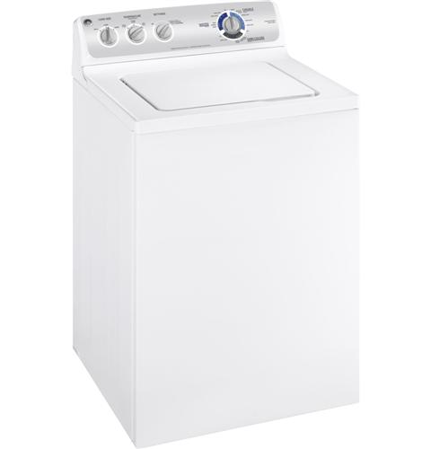 GE® 3.6 DOE cu. ft. washer with stainless steel basket