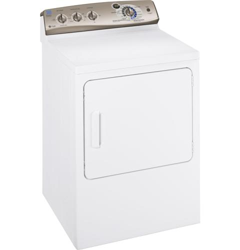 GE Profile™ 7.0 cu. ft. stainless steel capacity gas dryer with Steam and SensorDry Plus™