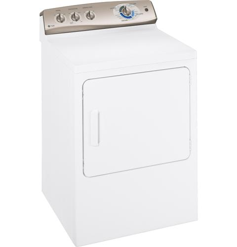 GE Profile™ 7.0 cu. ft. stainless steel capacity electric dryer with Sensor Dry™