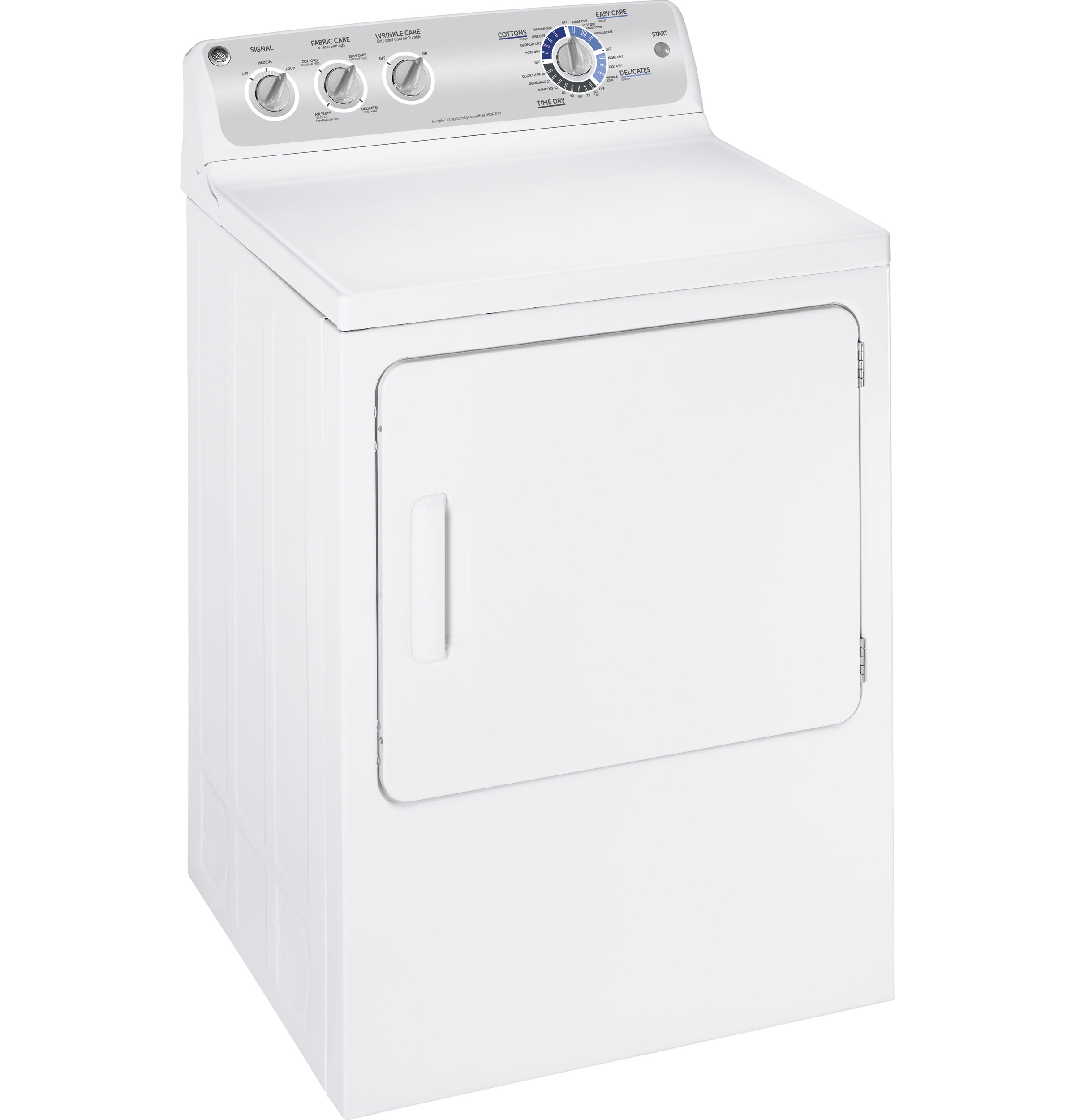 Ge 174 7 0 Cu Ft Stainless Steel Capacity Electric Dryer