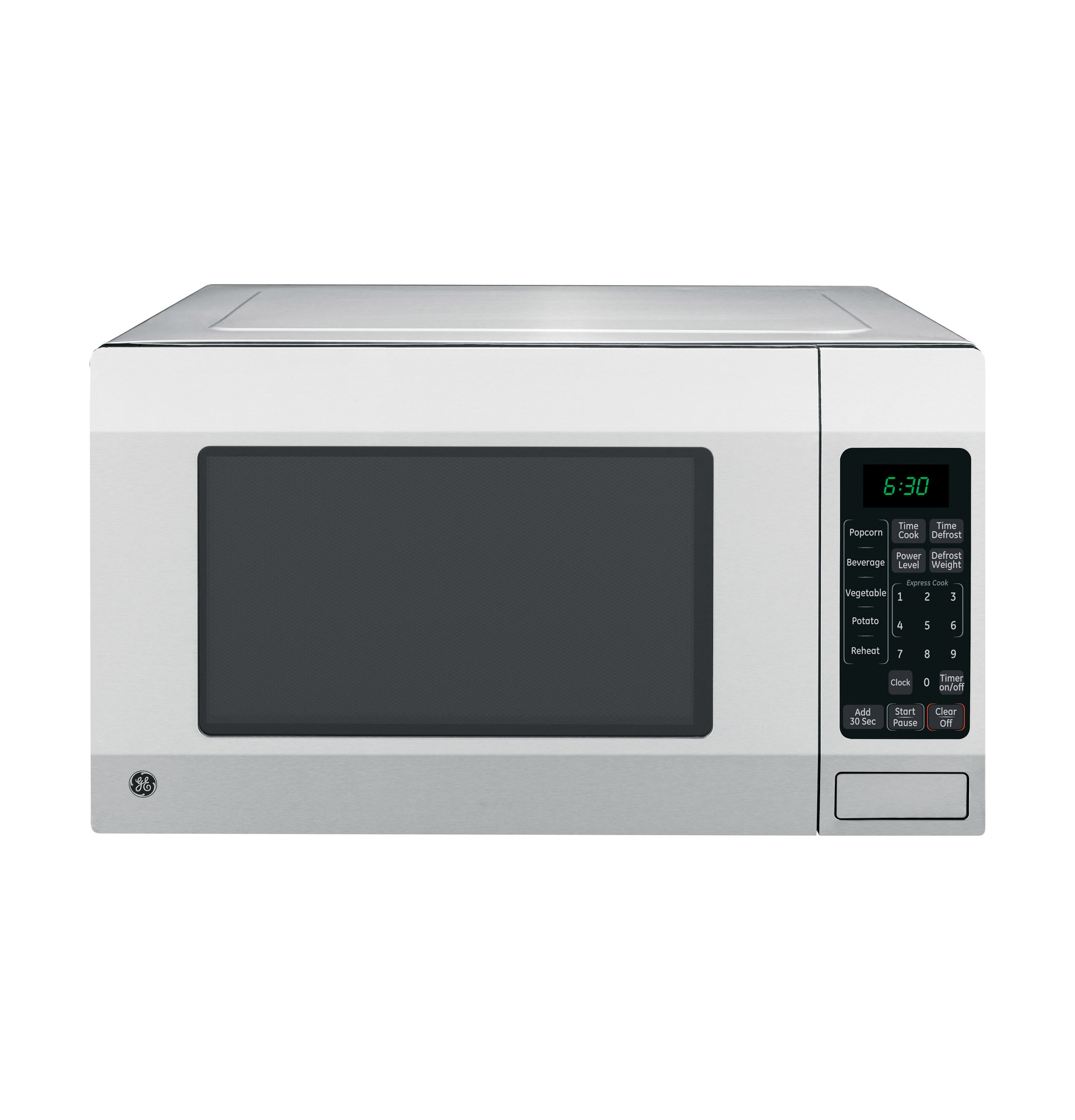 Ge Microwave Ovens ~ Ge cu ft countertop microwave oven jes srss