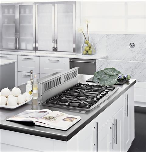 "Thumbnail of Monogram 36"" Stainless Steel Gas Cooktop (Natural Gas) 9"