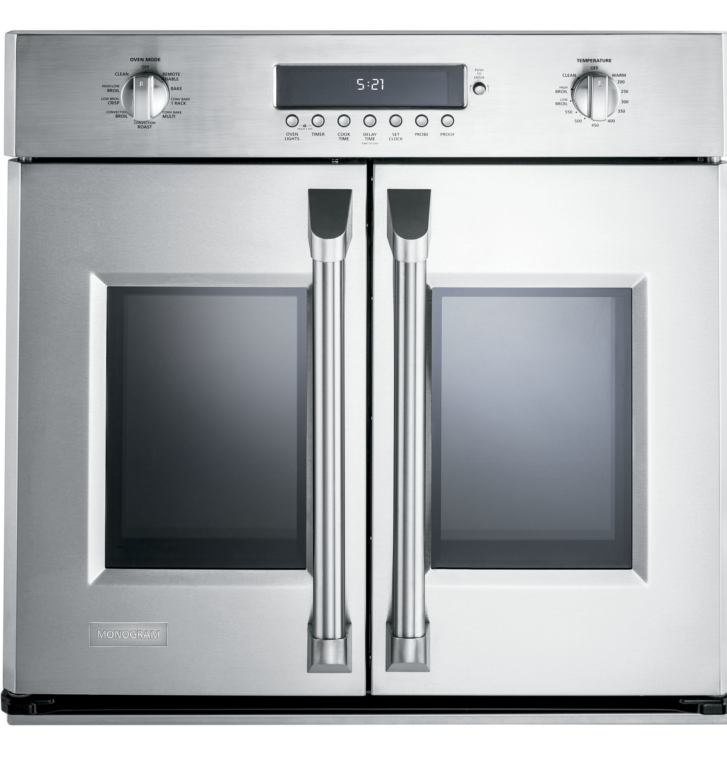 Zet1fhss Monogram 30 Professional French Door Electronic Convection Single Wall Oven Liances
