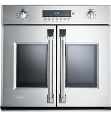 30 inch Professional French-Door Electronic Convection Single Wall Oven