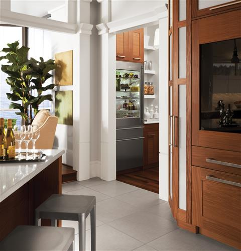 "Thumbnail of Monogram 30"" Integrated Glass-Door Refrigerator for Single or Dual Installation 11"