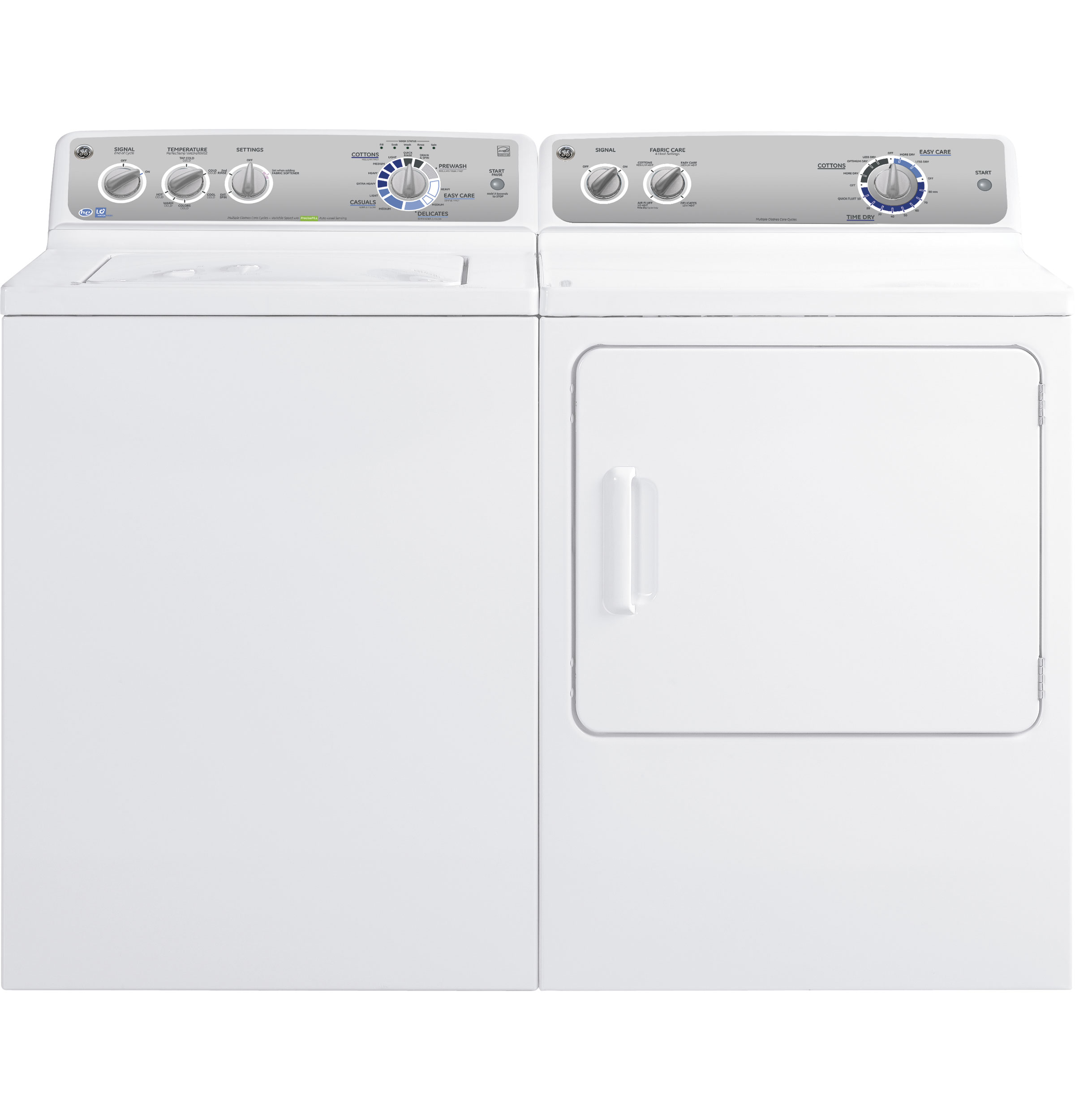 Ge 70 Cu Ft Capacity Duradrum Electric Dryer Gtdp300emws Timer Wiring Map Product Image