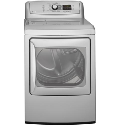 GE Profile Harmony™ 7.3 Cu. Ft. Stainless Steel  Capacity Gas Steam Dryer