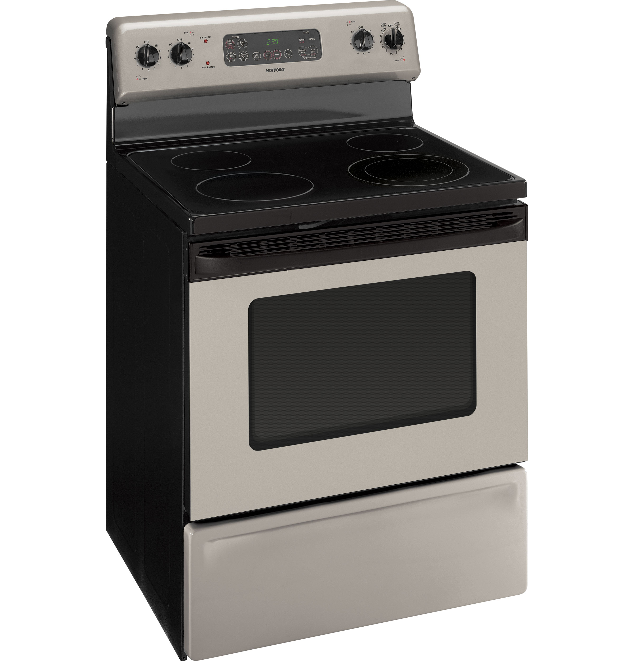 Hotpoint 30 free standing electric range rb790srsa for Estufa electrica whirlpool