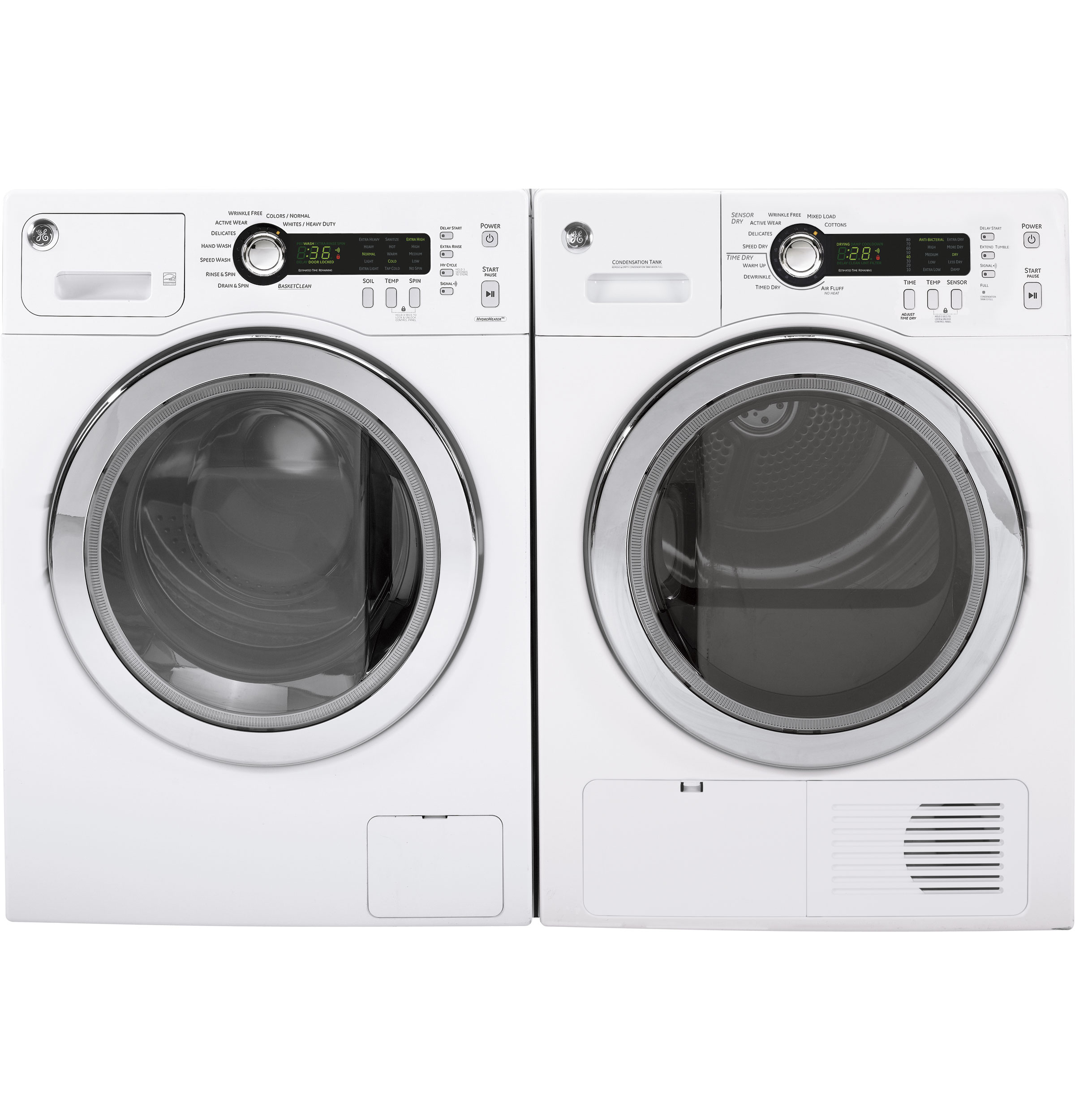 GE® 2.2 cu. ft. Front Load Washer | WCVH4800KWW | GE Appliances