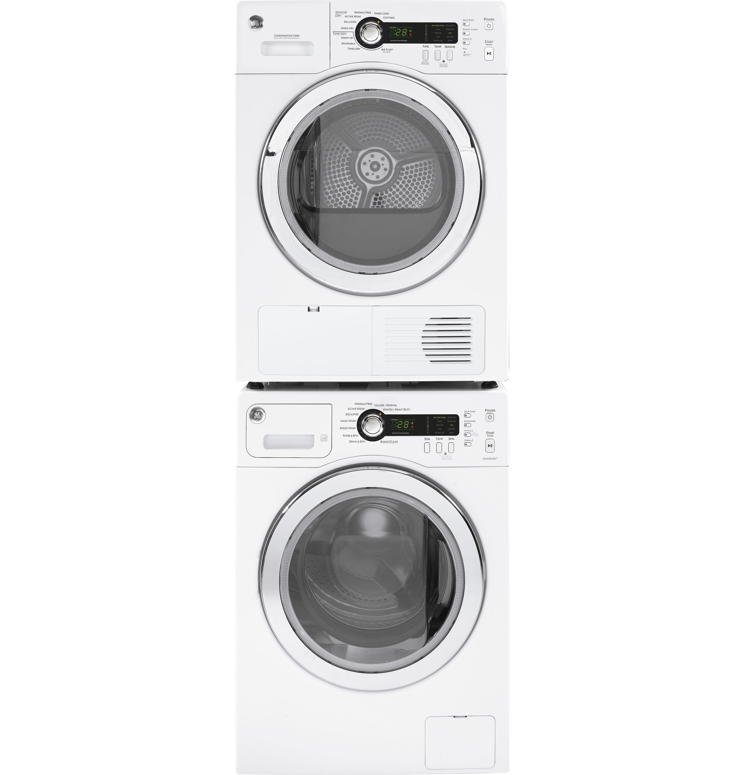 ge® 2 2 doe cu ft frontload washer wcvh4800kww ge appliances product image product image product image