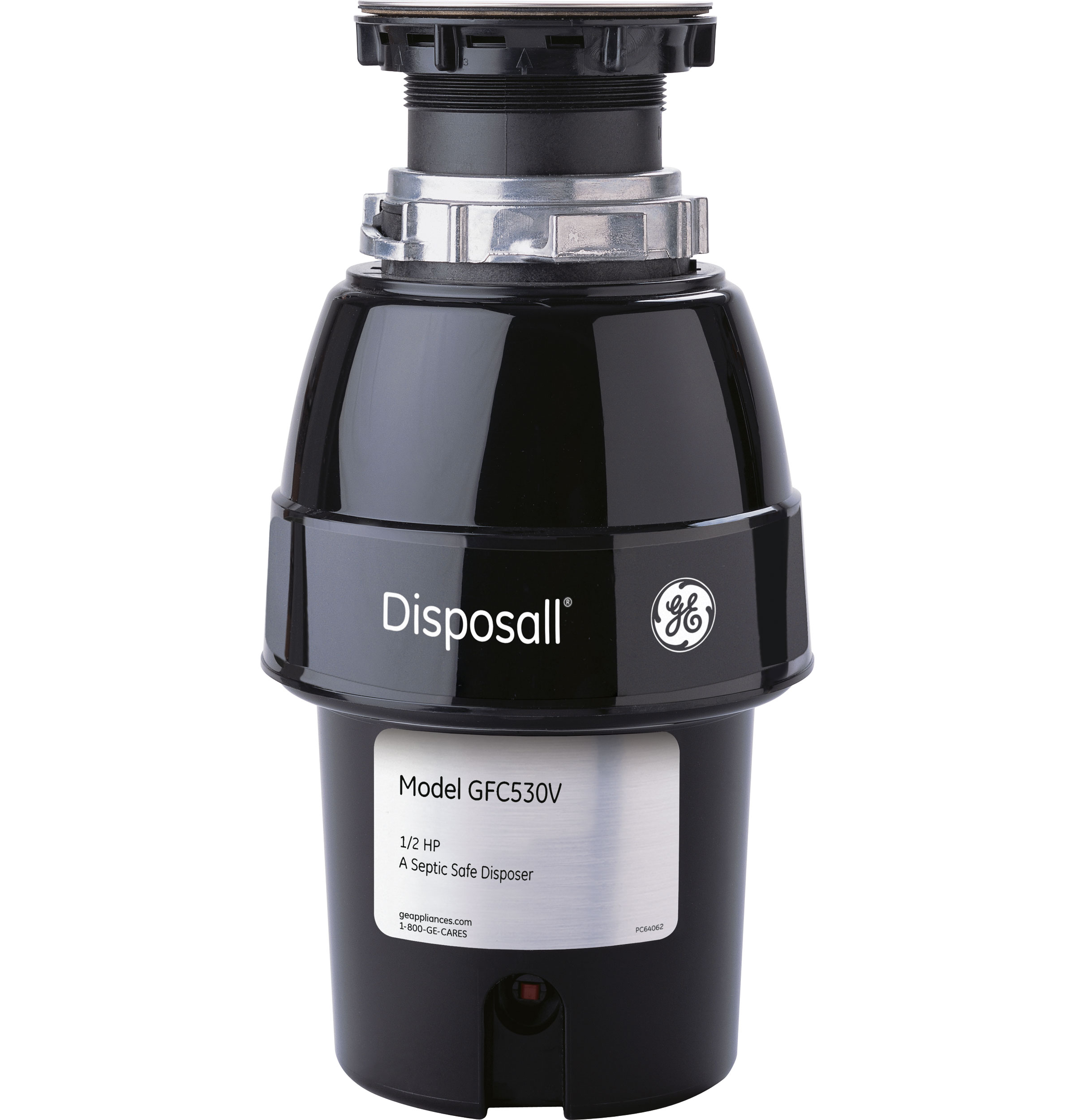 Gfc530v Ge 174 1 2 Hp Continuous Feed Garbage Disposer Non