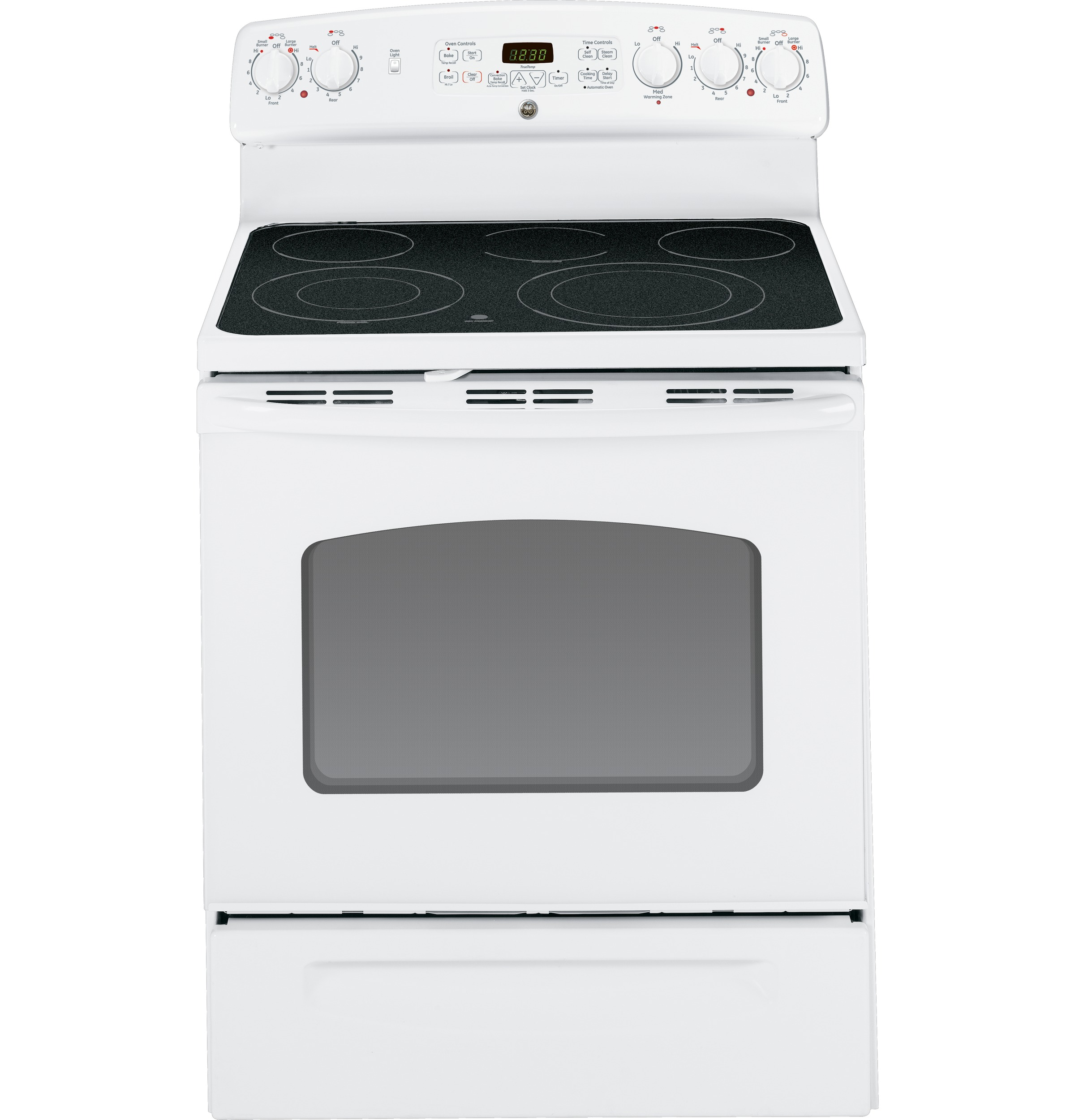 Ge Electric Stove ~ Ge quot free standing electric convection range