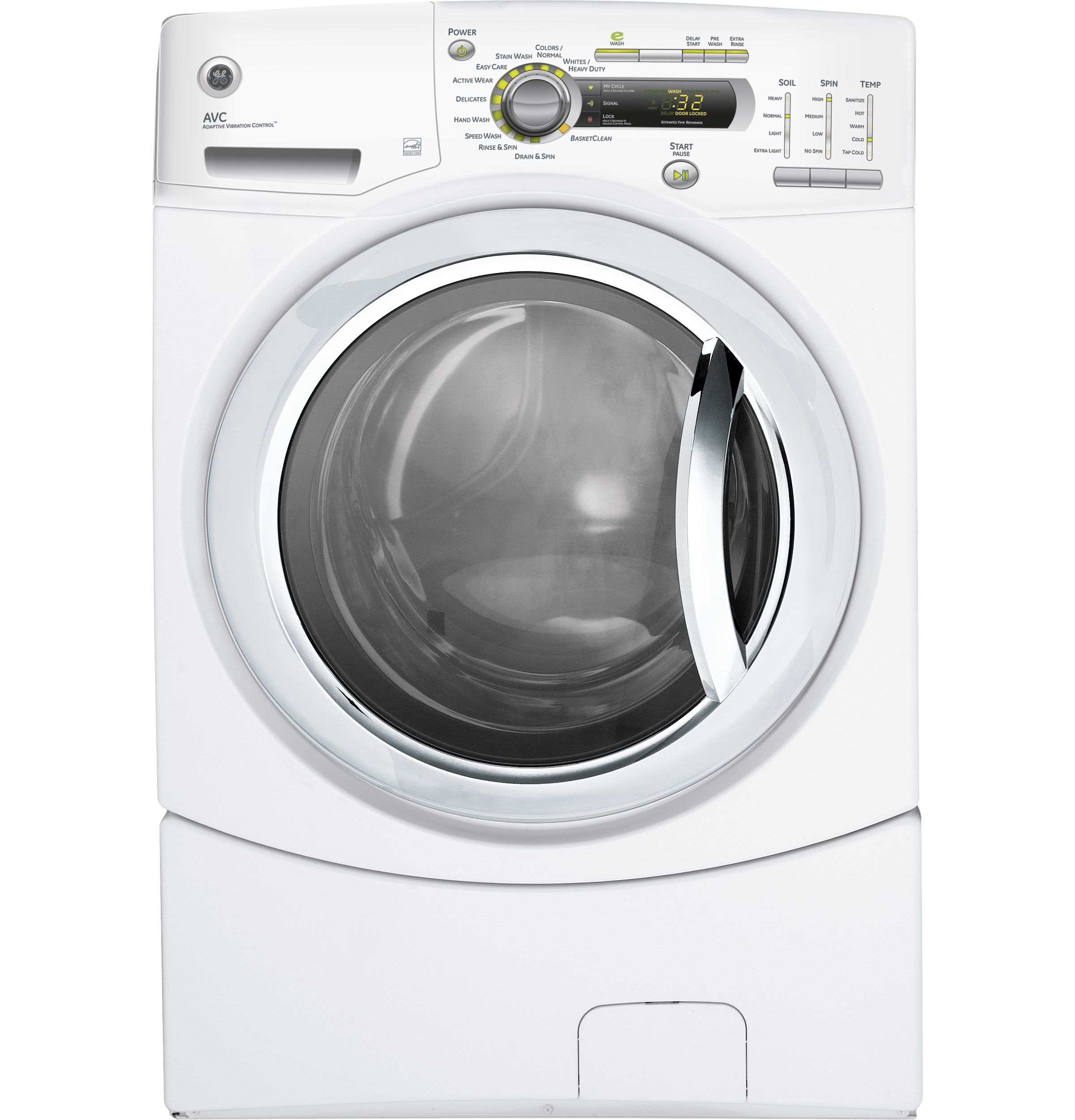 Ge Appliance Customer Service 800 Gear 41 Doe Cu Ft Stainless Steel Capacity Frontload Washer