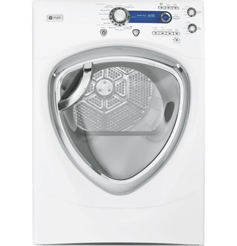 GE Profile™ 7.5 cu. ft. stainless steel capacity frontload dryer with Steam