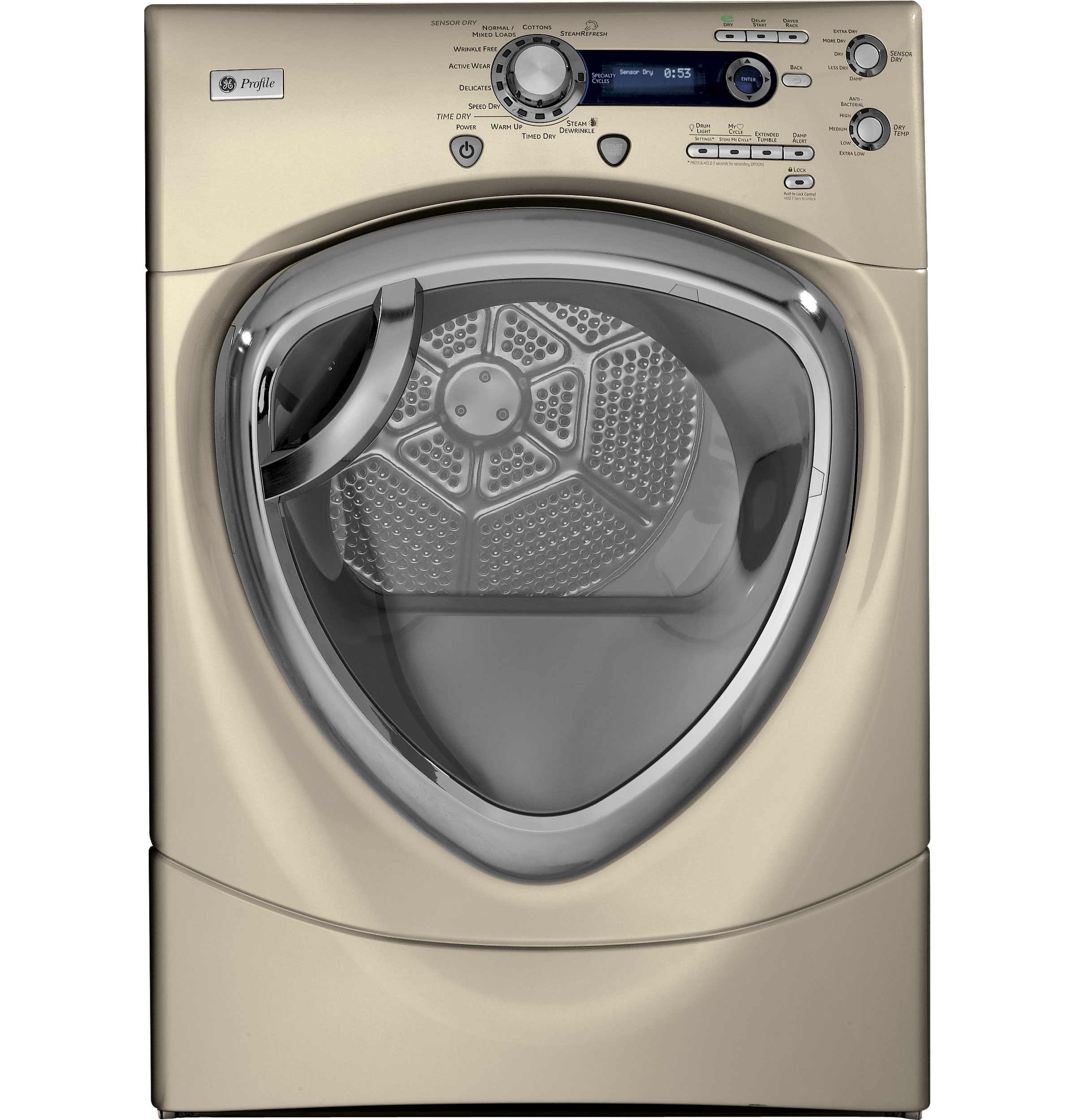 Ge Profile 7 5 Cu Ft Stainless Steel Capacity Frontload