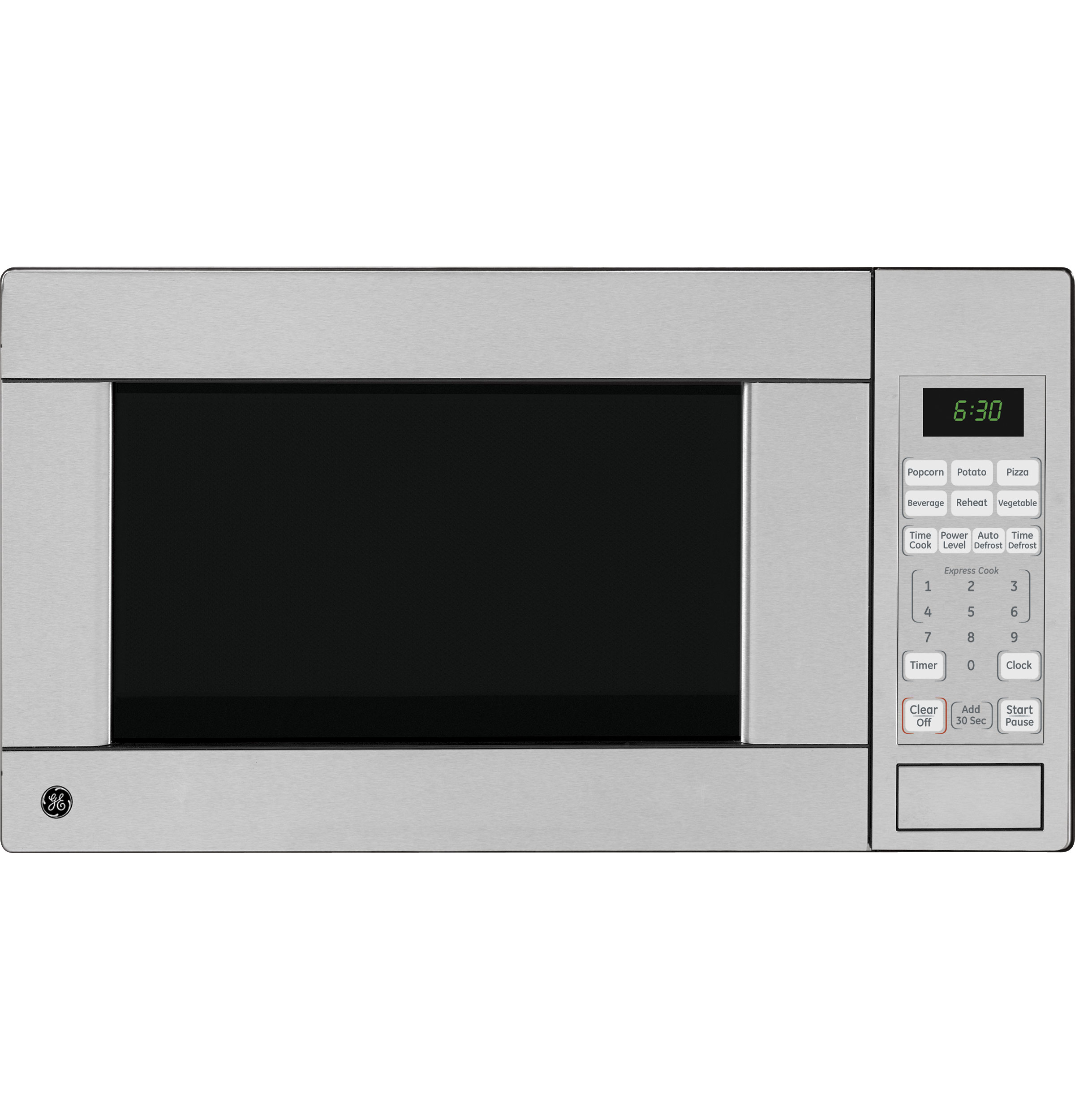 Ge 174 1 1 Cu Ft Capacity Countertop Microwave Oven