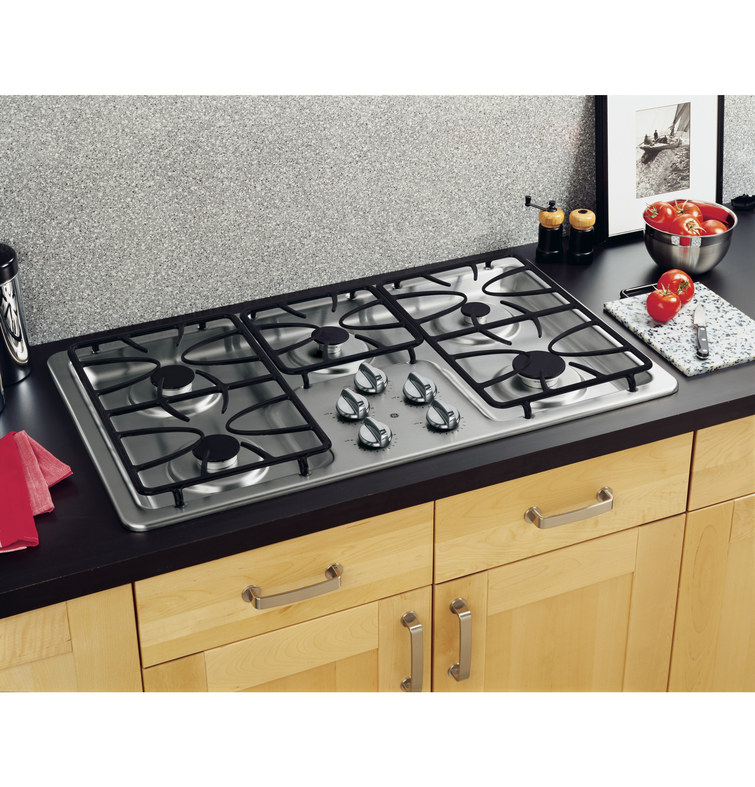 GER 36 Built In Gas Cooktop