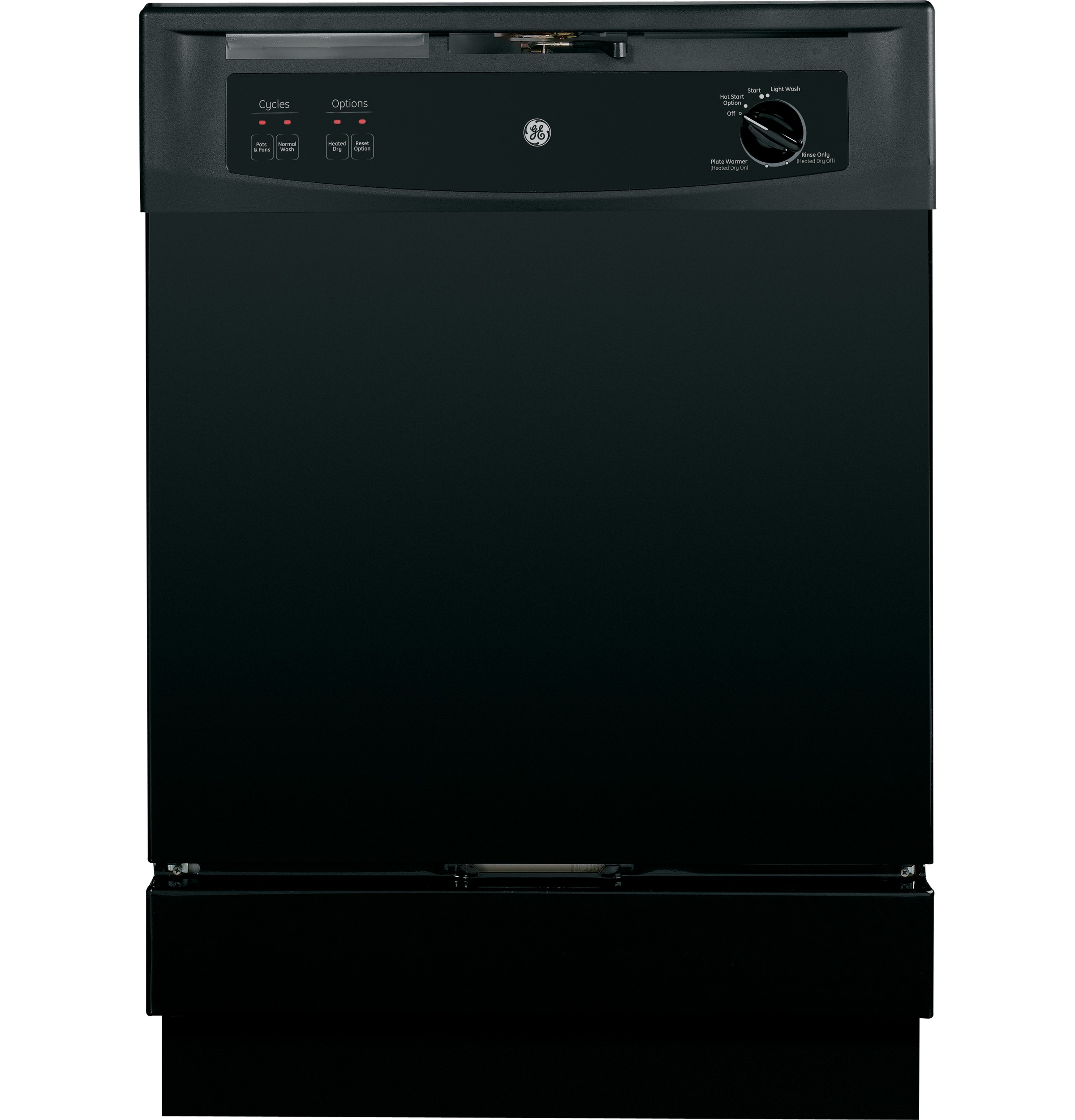 GE Spacemaker? Under-the-Sink Dishwasher GSM2200VBB GE Appliances