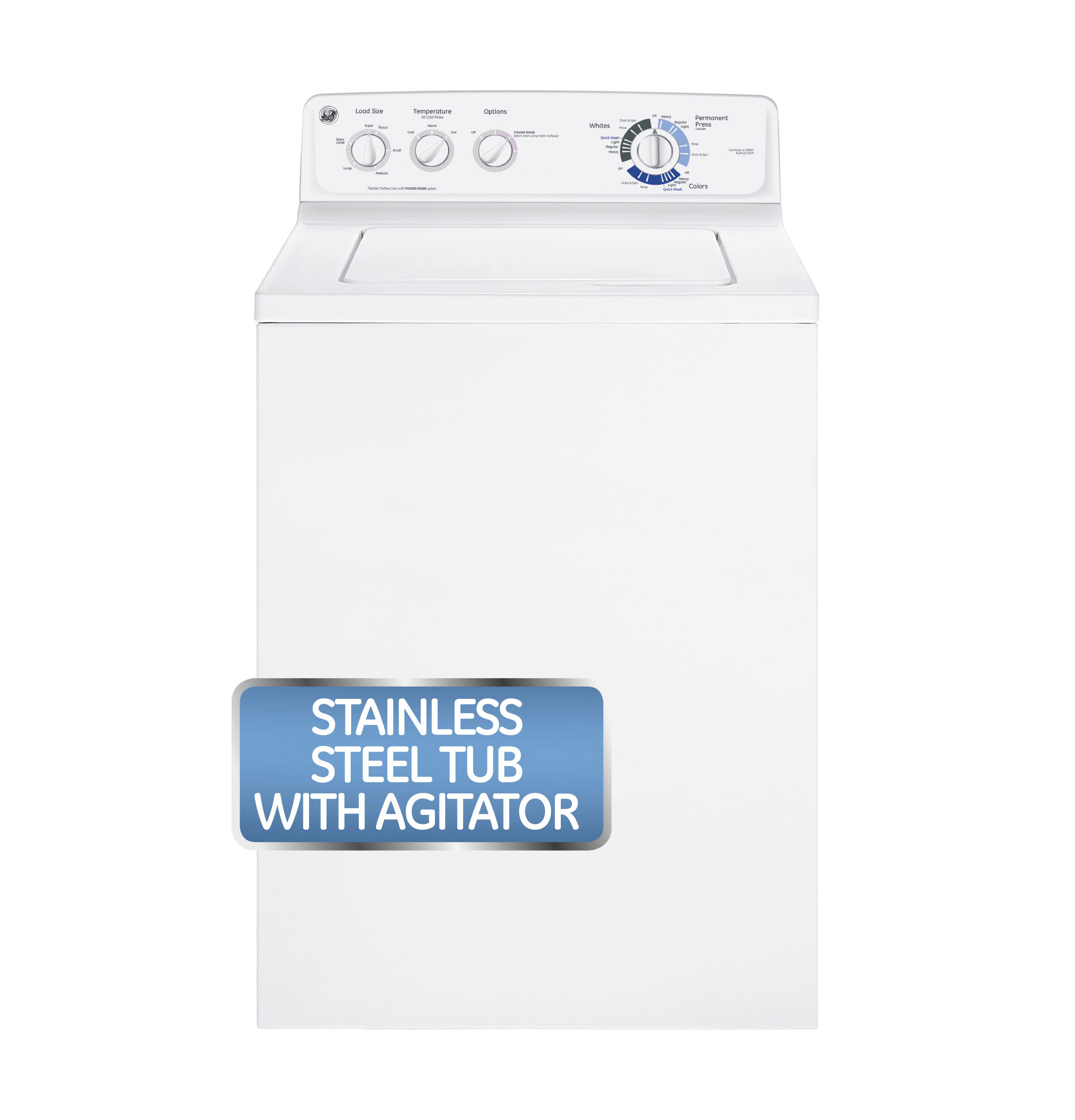 5915A GE® 3.8 DOE Cu. Ft. Stainless Steel Capacity Washer | GTWN2800DWW ...  | Wiring LibraryWiring Library