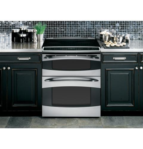 Ge Profile Slide In Double Oven Electric Range Ps978stss Ge