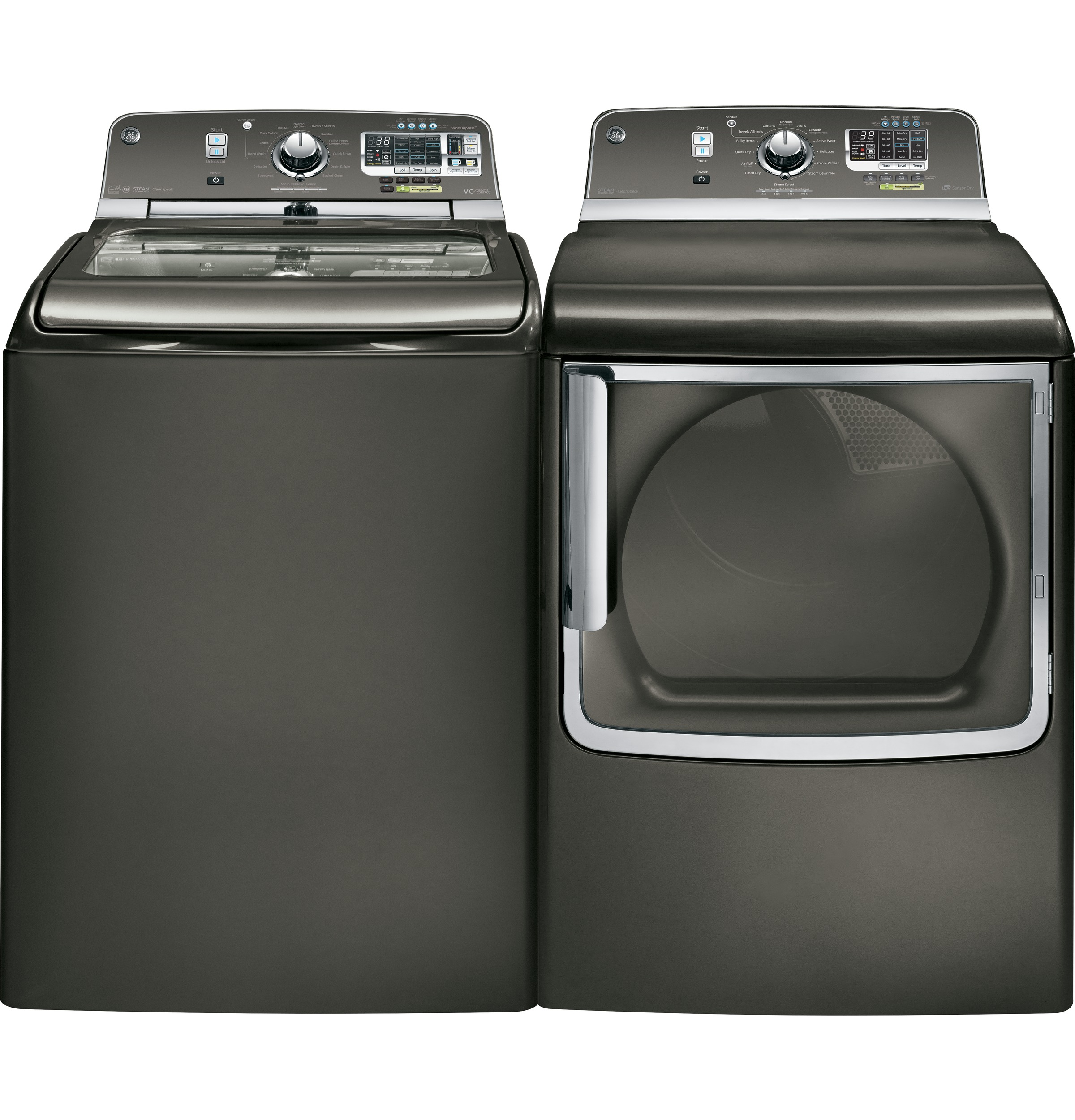Harmony Washer And Dryer Gear 50 Doe Cu Ft Capacity Washer With Stainless Steel Basket