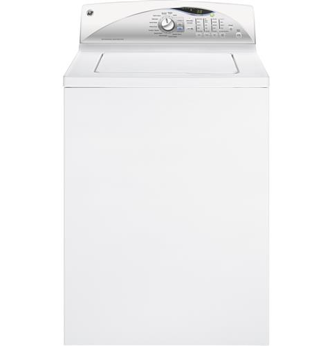 GE® 3.8 DOE cu. ft. washer with stainless steel basket