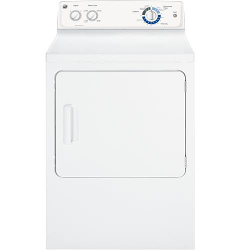 GE® 7.0 cu. ft. capacity Dura Drum electric dryer
