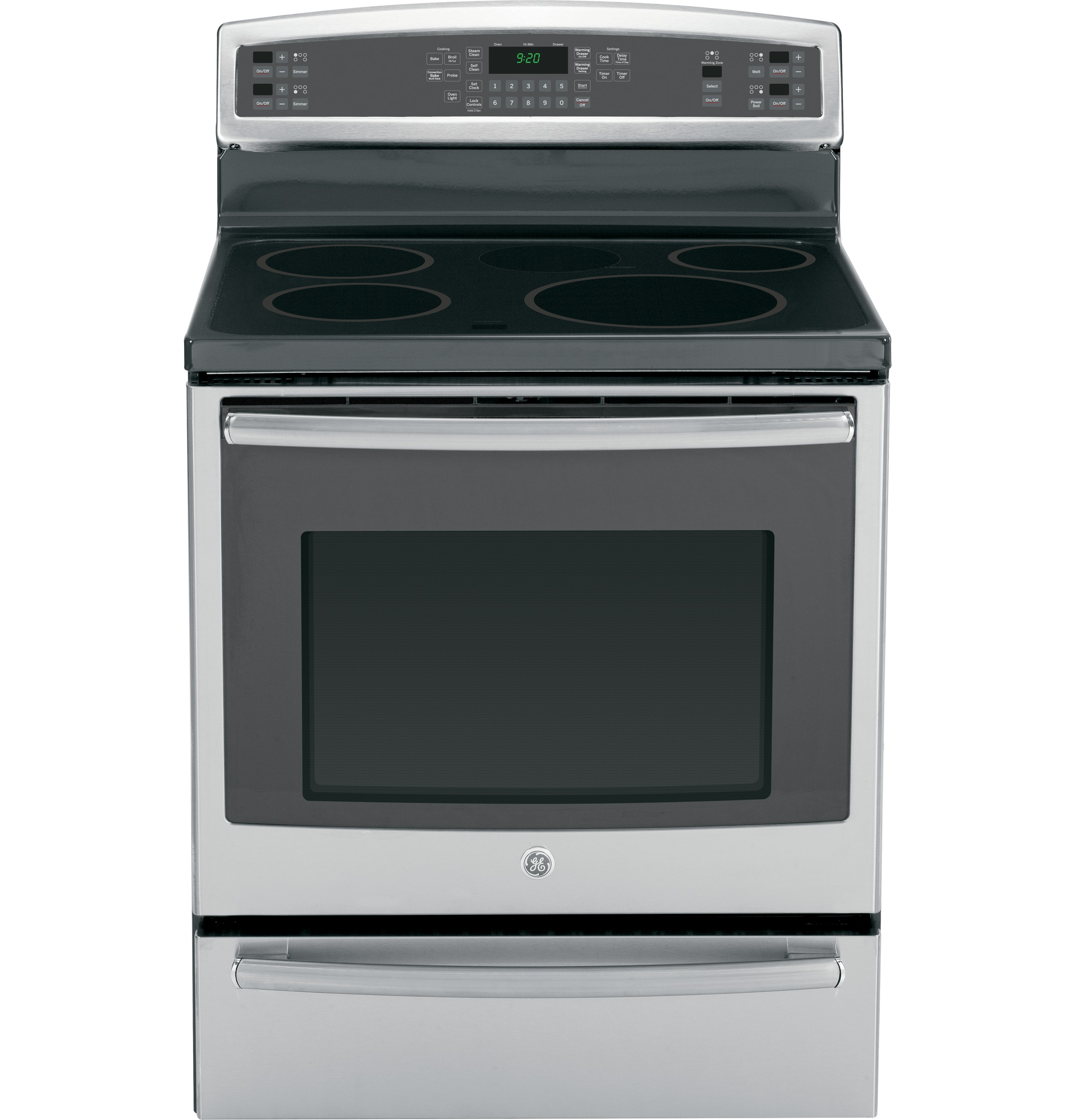Ge Profile Series 30 Free Standing Induction And Convection Range Wiring Electric Oven Hob Product Image