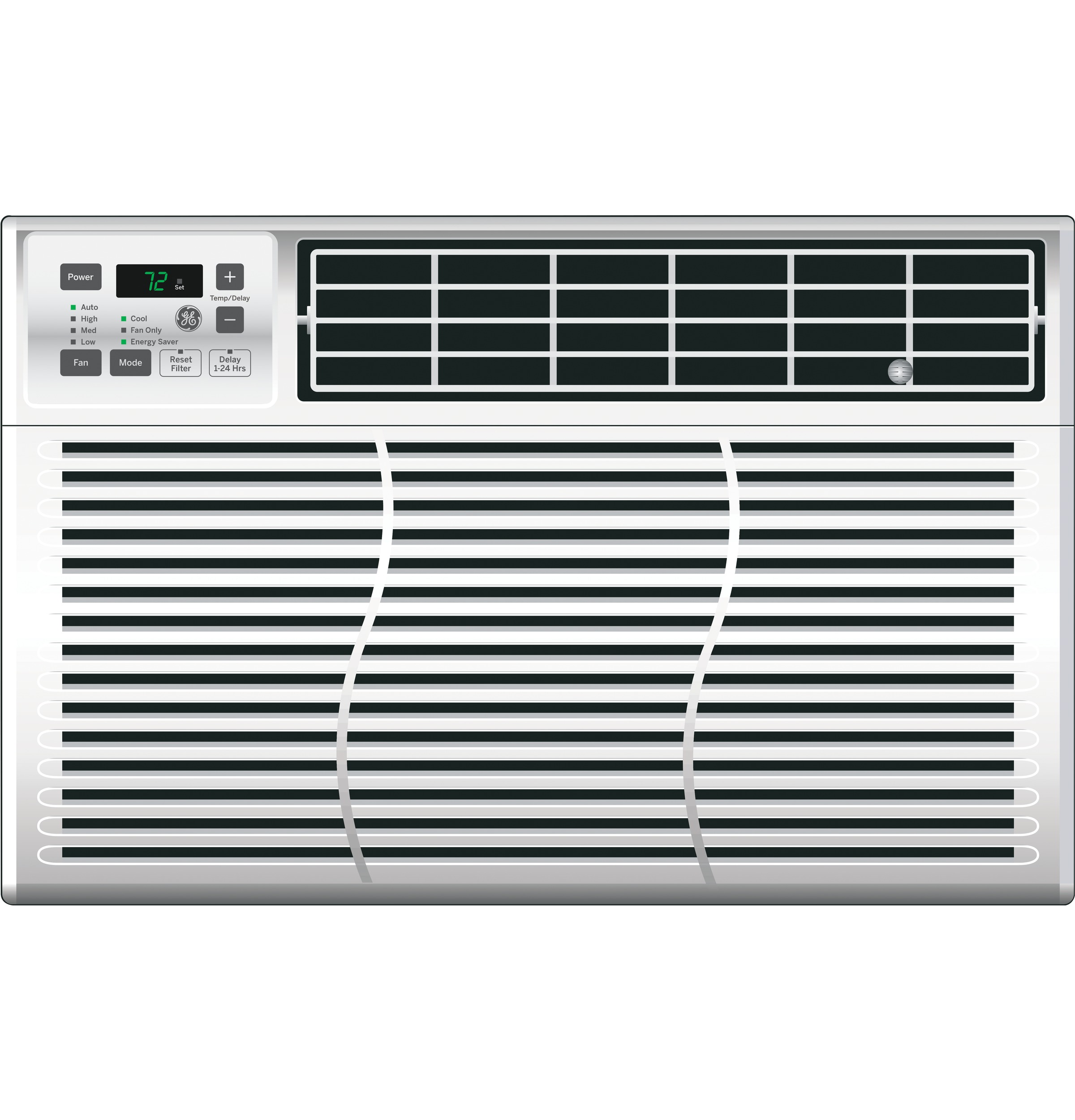 GE® 115 Volt Electronic Room Air Conditioner | AEL06LV | GE ... Ge Btu Air Conditioner Wiring Diagram on