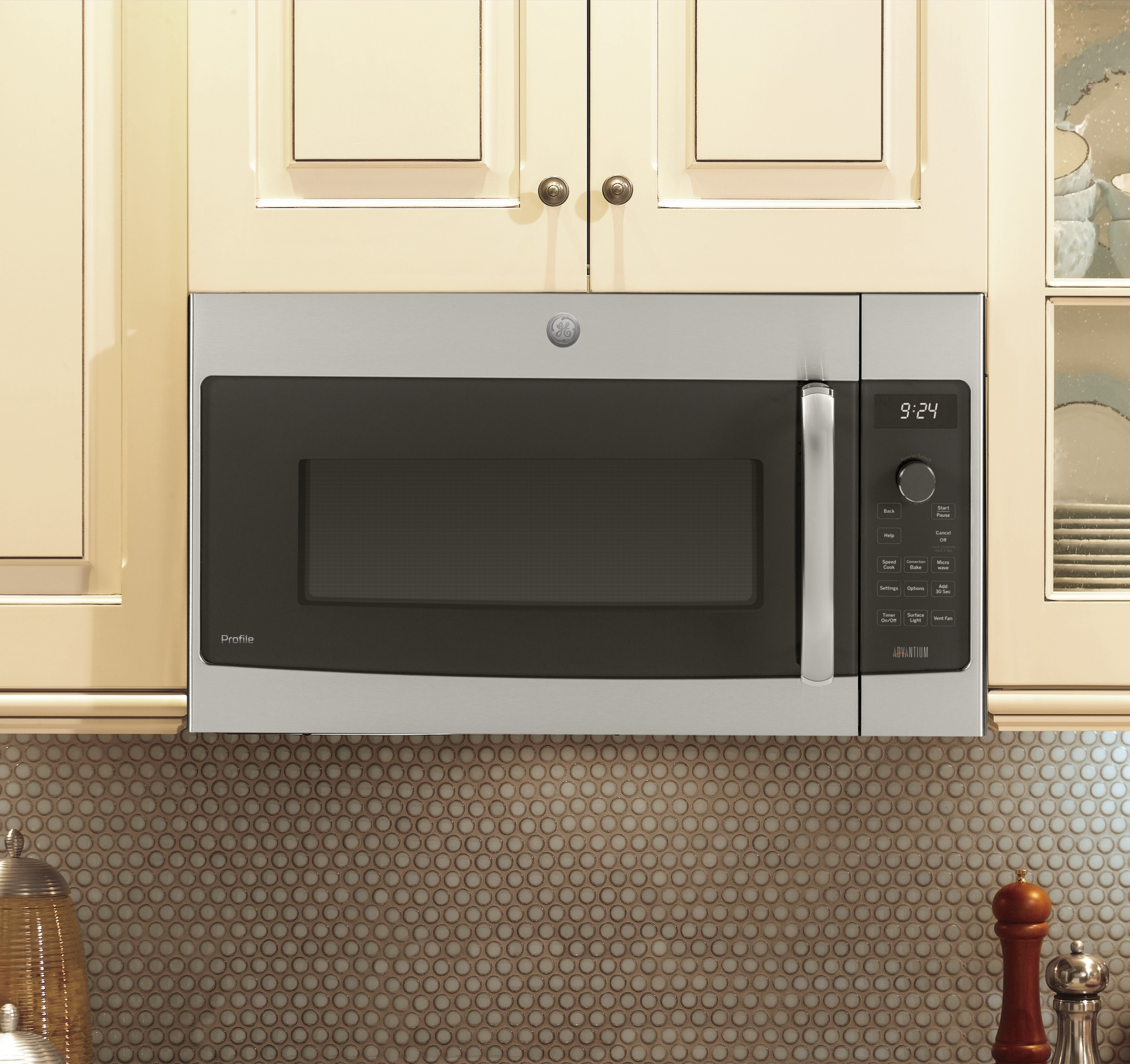 GE Profile™ Over-the-Range Oven with Advantium® Technology ... on