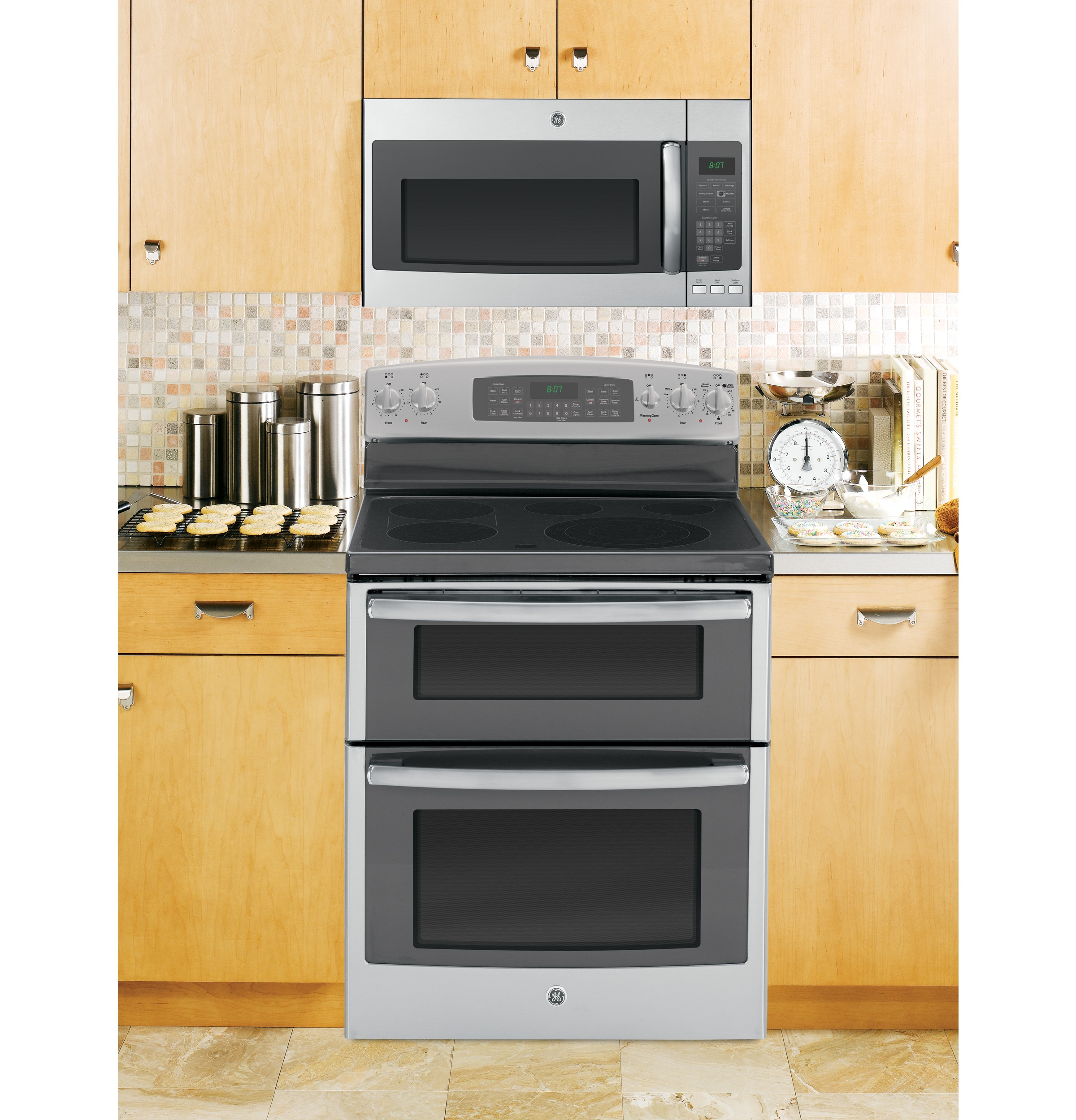 Height of microwave over stove -  Product Image