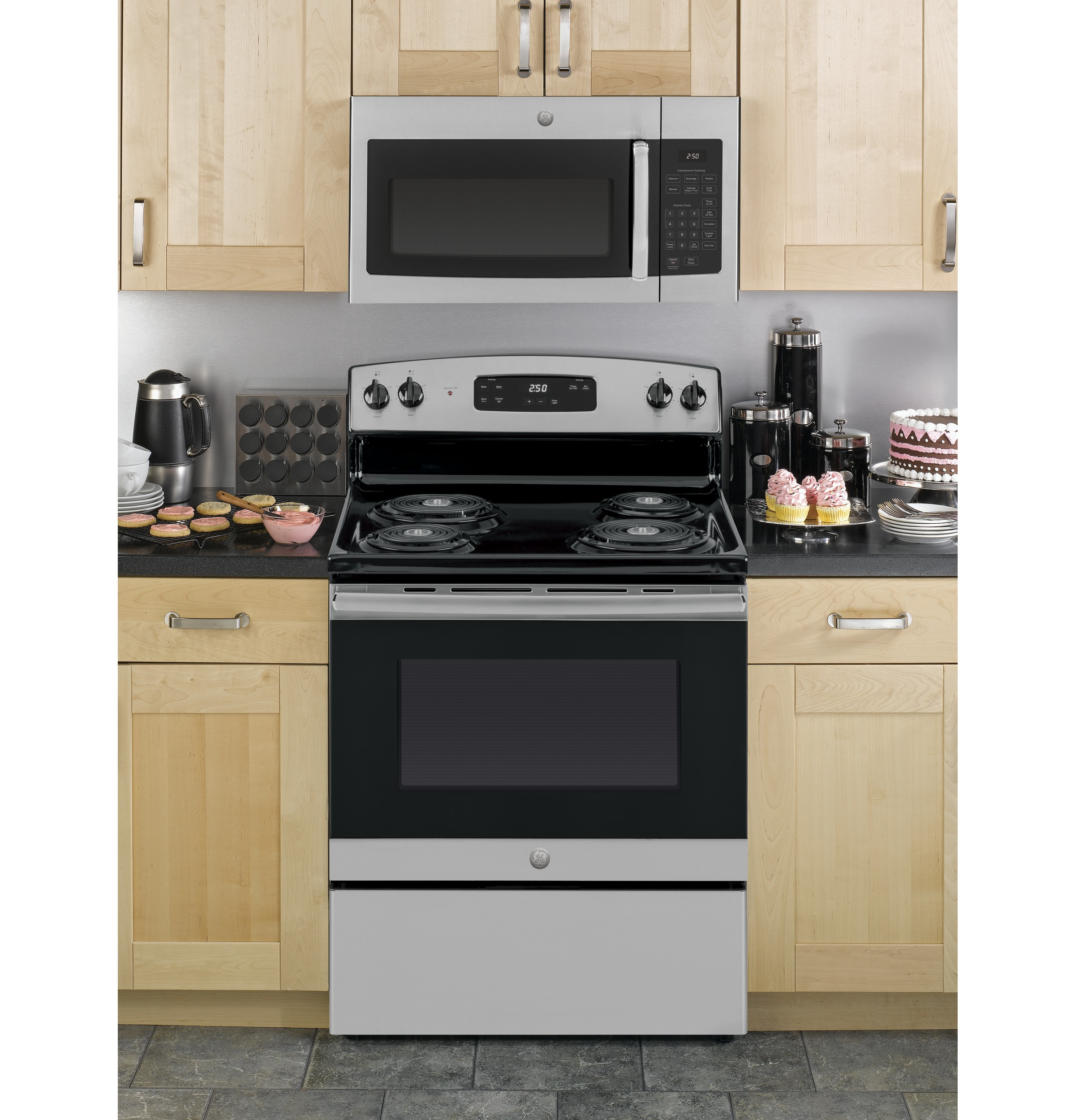 GE® 1.6 Cu. Ft. Over-the-Range Microwave Oven | JVM3160RFSS ... Ge Jvm Sm Ss Oven Schematic Diagram on
