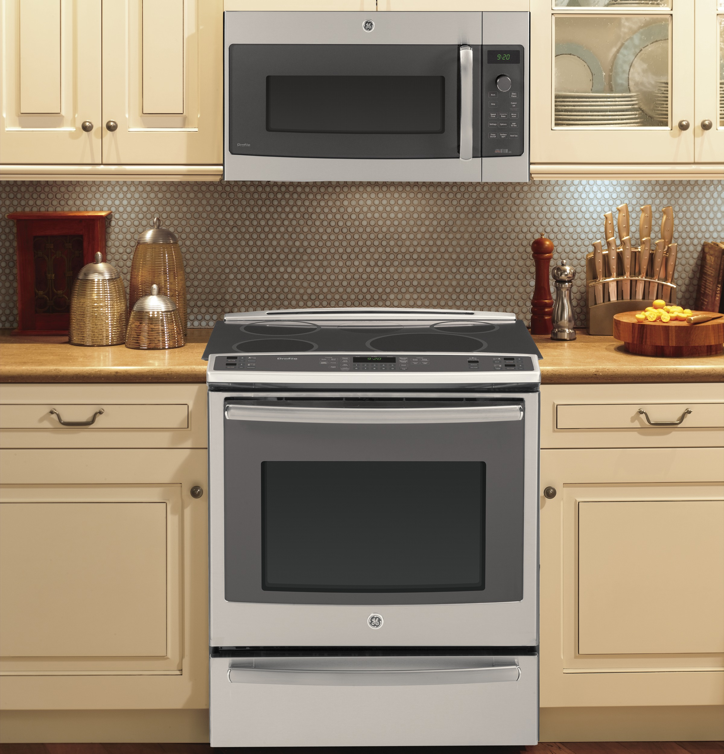 Ideal GE Profile Series Over-the-Range Oven with Advantium® Technology  ON89
