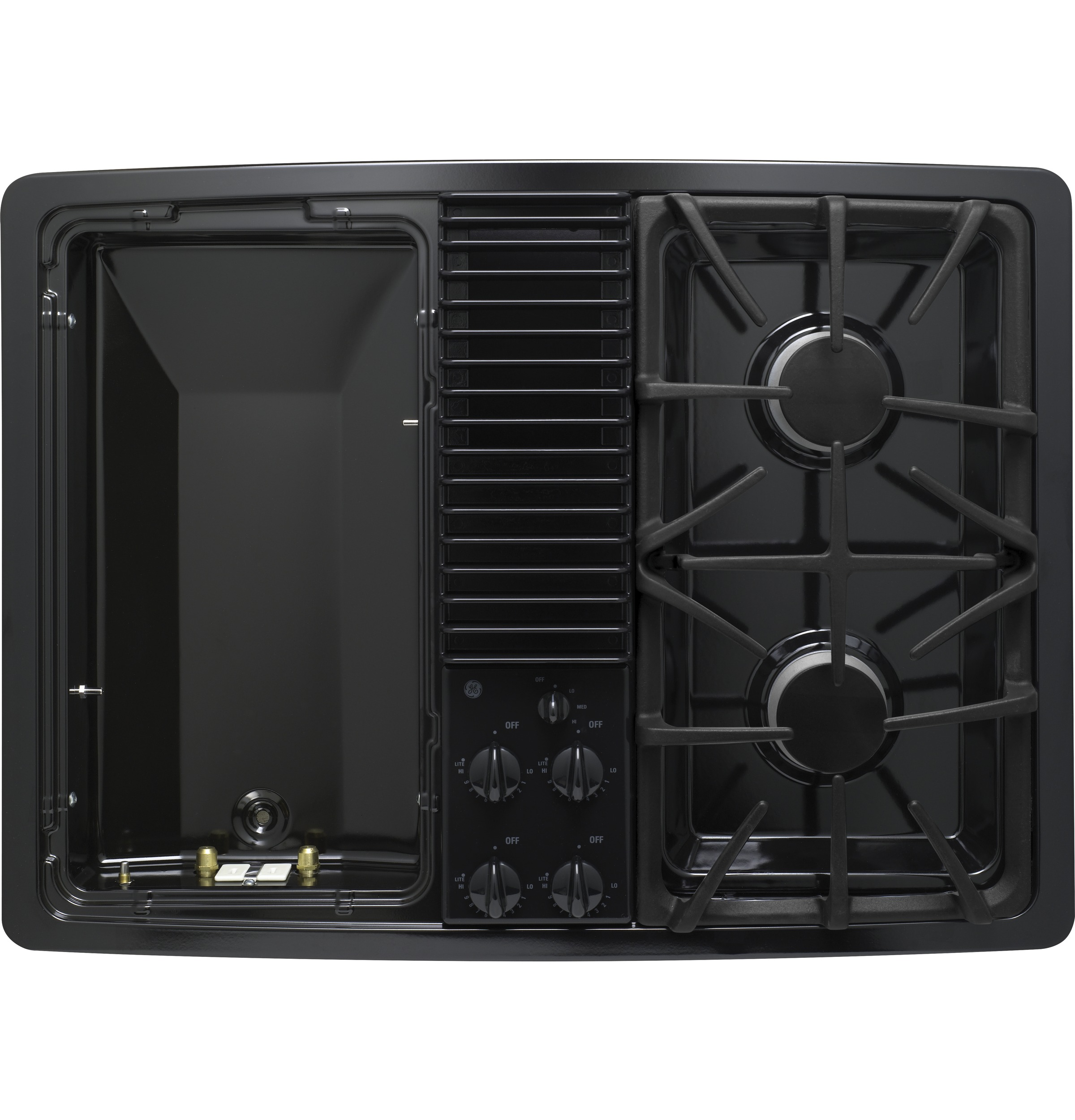 Ge Profile Series Built In Downdraft Gas Modular Cooktop
