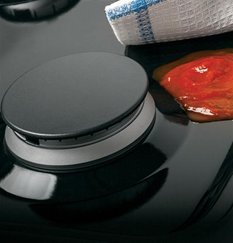 Sealed cooktop burners