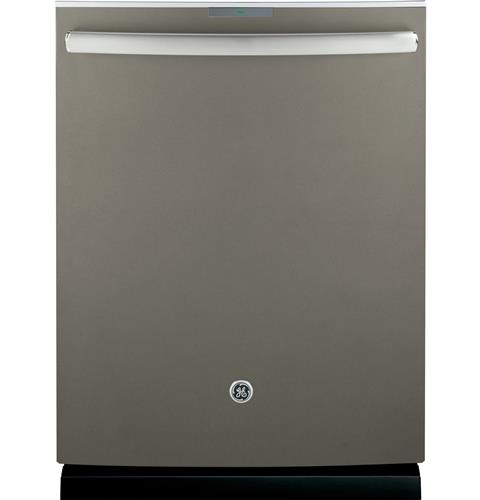 GE Profile™ Series Stainless Steel Interior Dishwasher with Hidden Controls– Model #: PDT855SMJES