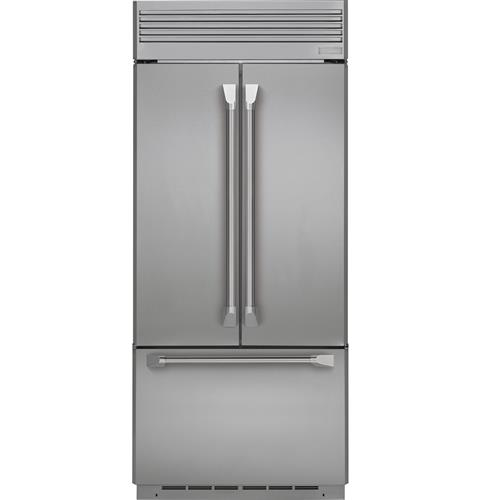 Zipp360nhss Monogram 36 Built In French Door Refrigerator