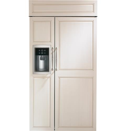Zisb420dk Monogram 42 Built In Side By Refrigerator With Dispenser Liances