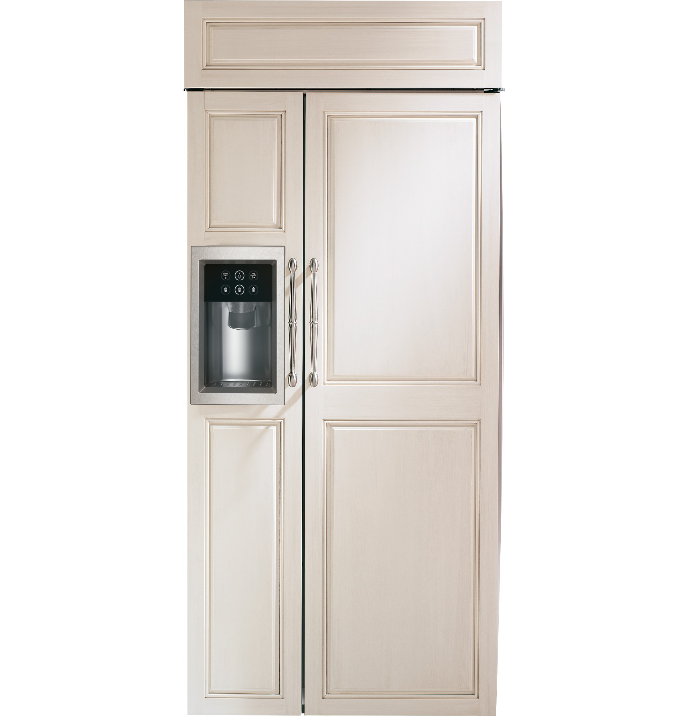 Monogram 174 36 Quot Built In Side By Side Refrigerator With