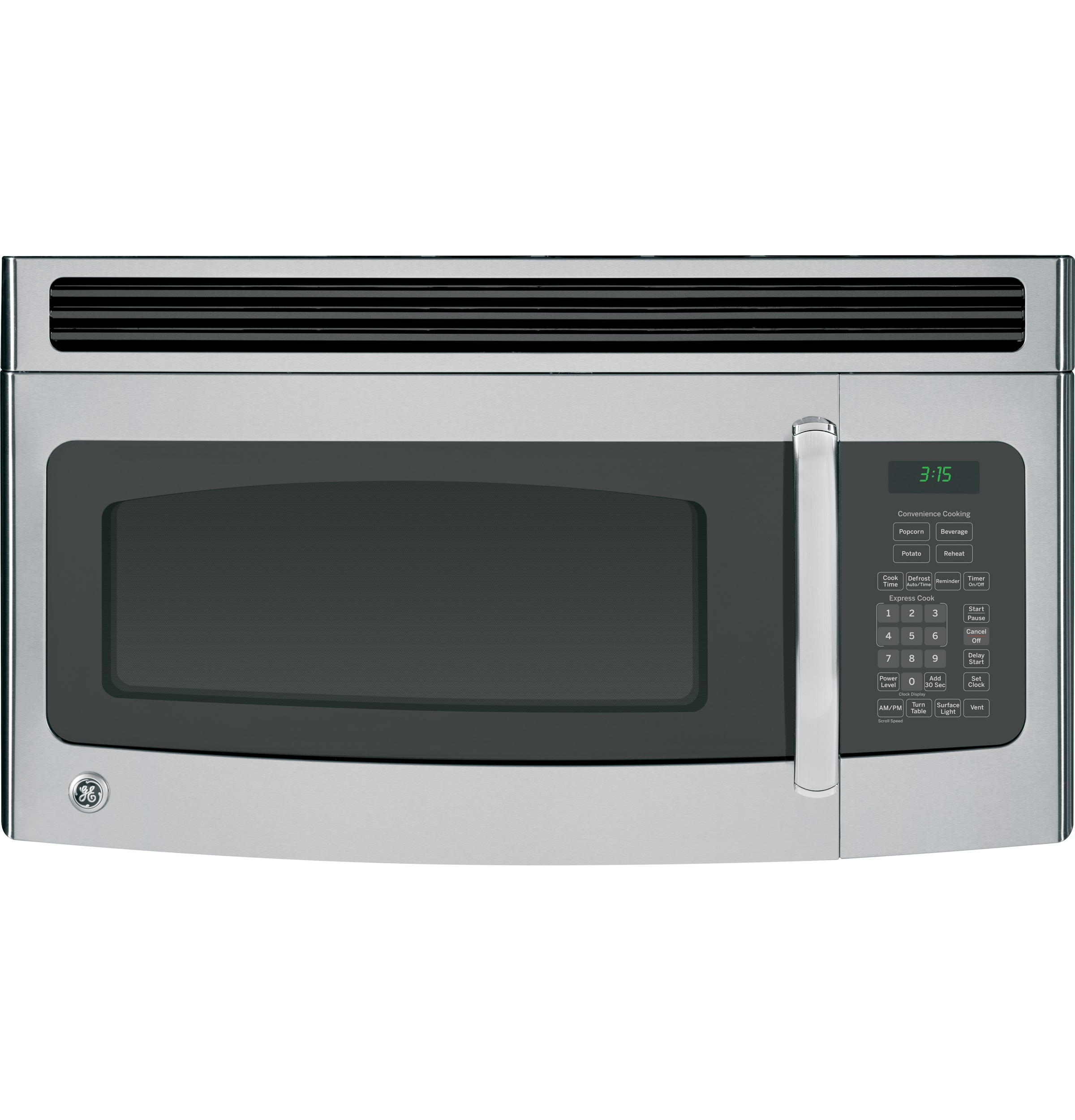 Ge Microwave Ovens ~ Ge cu ft over the range microwave oven