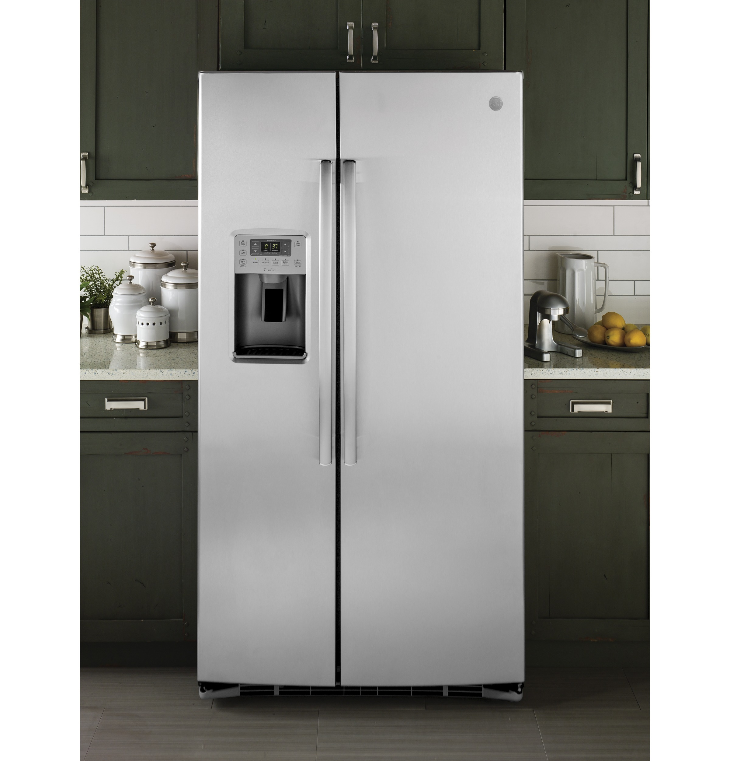 Ge profile series energy star 253 cu ft side by side product image publicscrutiny Gallery