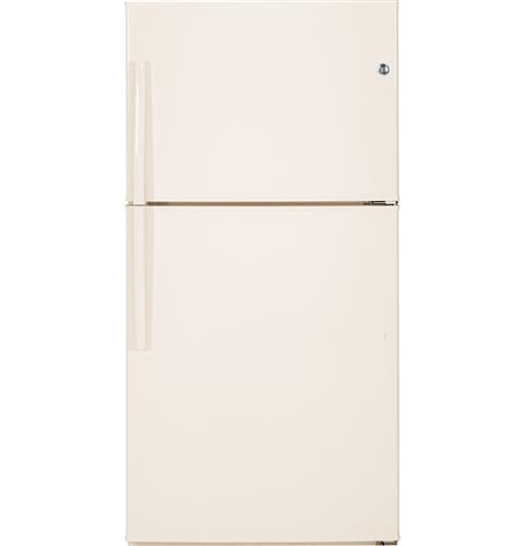 GE® ENERGY STAR® 21.2 Cu. Ft. Top-Freezer Refrigerator– Model #: GTE21GTHCC